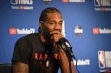 Golden State Warriors Toronto Raptors Media Shootaround