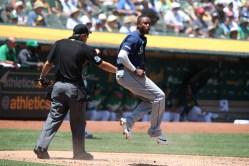 Oakland A's vs Seattle Mariners Photos by Tod Fierner (Martinez News-Gazette)