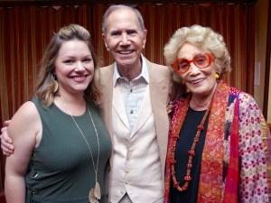 Noelle Arms with Freddie and Myrna Gershon.