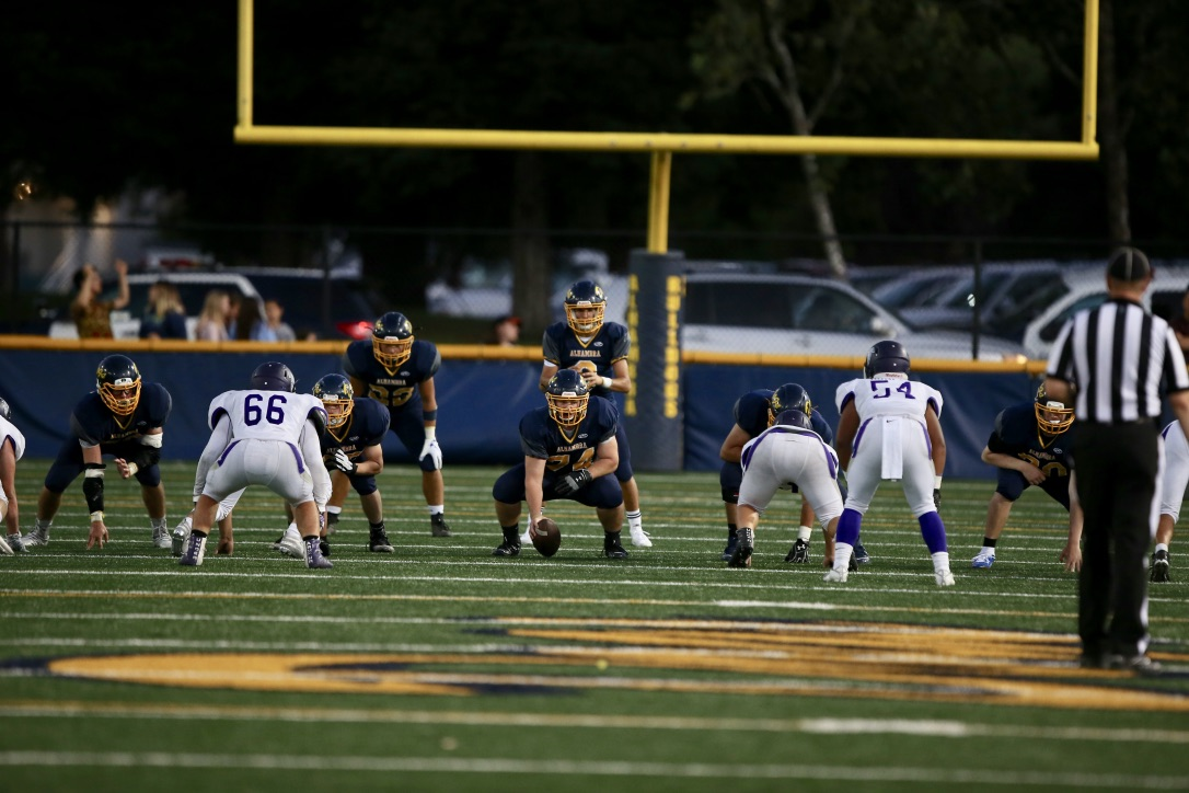 Alhambra Bulldogs vs College Park 60-19