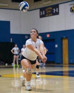 Alhambra Girls Volleyball vs Pinole Valley Photos by Mark Fierner (Martinez News-Gazette)