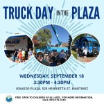 Community Calendar, Sept. 15, 2019: Truck Day in the Plaza
