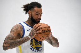 Golden State Warriors Media Day #2 Center Willie Cauley-Stein