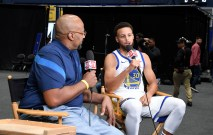 Golden State Warriors Media Day #30 Steph Curry