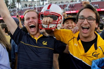 Cal Golden Bears vs Stanford Cardinal Big Game 24-20 Cal