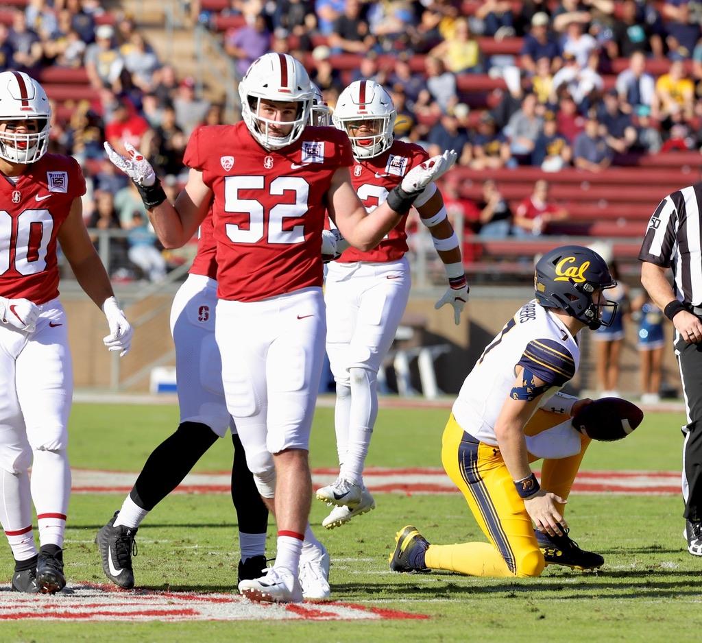 Cal Golden Bears vs Stanford Cardinal Big Game24-20  Cal