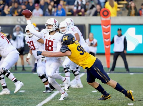 Cal Bears vs Washington State Cougars