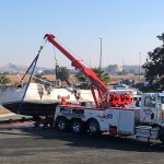 Fire destroys boat at Martinez Marina