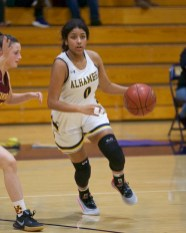 Alhambra Girls Basketball vs Vintage