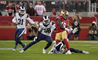 San Francisco 49ers vs LA Rams Photos by Gerome Wright (Martinez News-Gazette)
