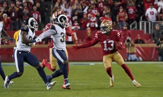 San Francisco 49ers vs LA Rams Photos by Gerome Wright (Martinez News-Gazette)