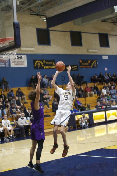 Alhambra Boys Basketball vs College Park