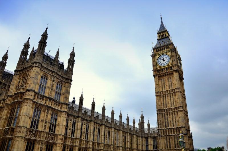 El Big Ben de Londres