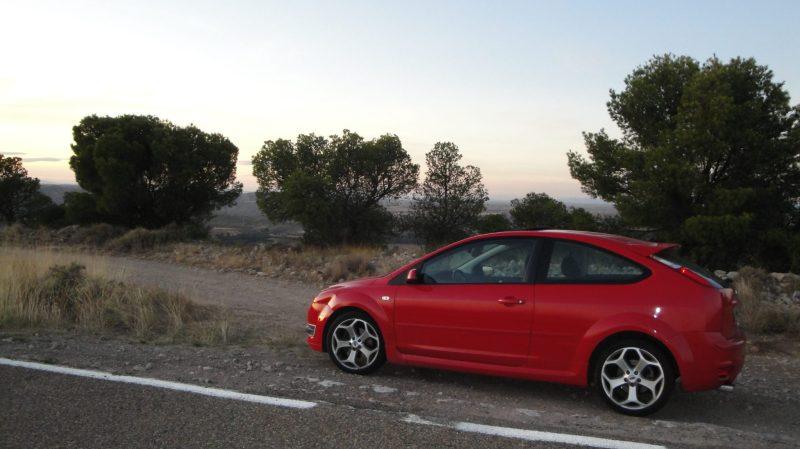 Uno de mis primeros RoadTrips, con mi Focus diésel