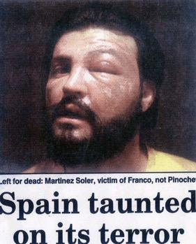Foto de las torturas publicada en la prensa inglesa