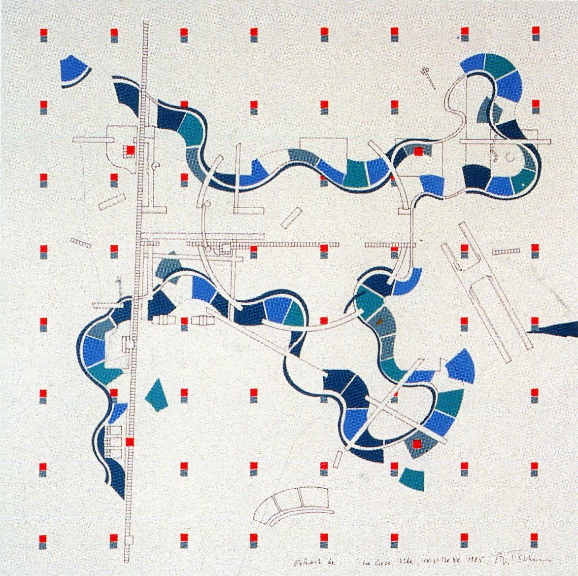 oma parc de la villette diagram sun worksheet bernard tschumi martín fernández córdova