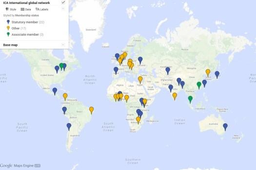 ICAI global network