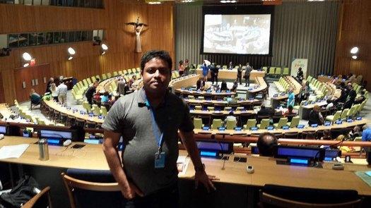 Aziz Rahman at #UNNGO2014