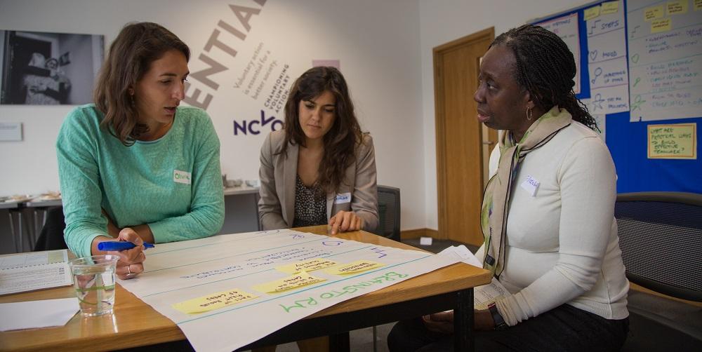 ICA:UK ToP Group Facilitation Methods training, 2015 in London - photo Michael Ambjorn, facilitation Martin Gilbraith #ToPfacilitation