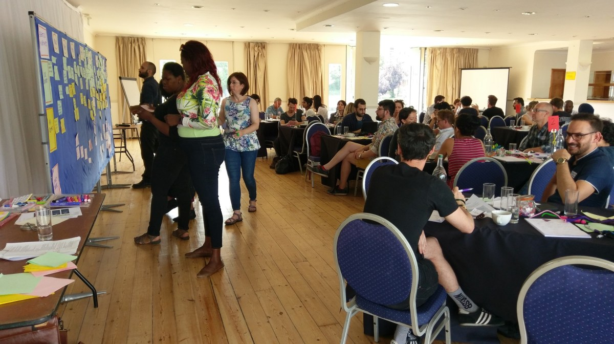 Amnesty International Communications Department retreat, 2017 in London - photo & facilitation Martin Gilbraith #ToPfacilitation 1