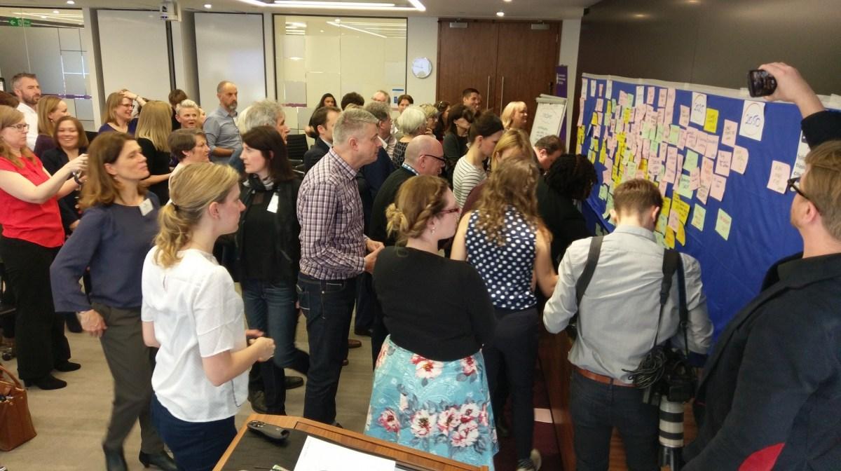 IABC EMENA EuroComm conference, 2017 in London - photo & facilitation Martin Gilbraith #ToPfacilitation #EuroComm17