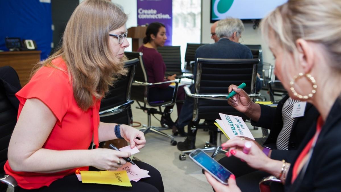 IABC EMENA Eurocomm2017 conference in London - photo IABC EMENA, facilitation Martin Gilbraith #ToPfacilitation #EuroComm17 3