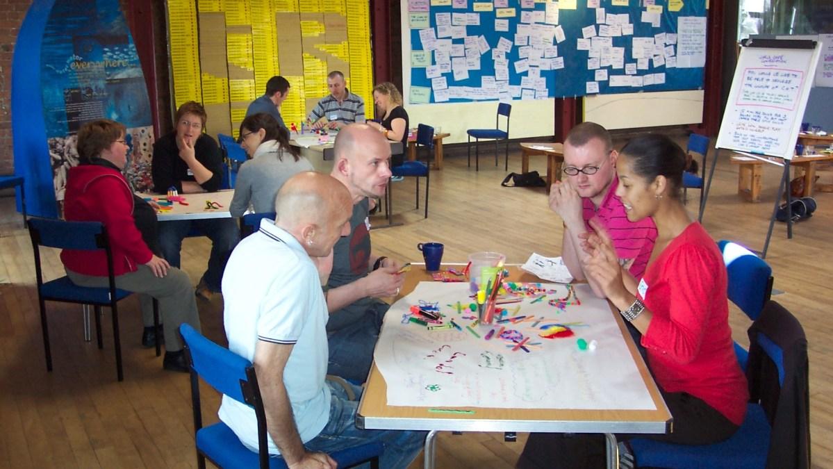 ICAUK George House Trust staff away day, 2017 in Manchester - photo & facilitation Martin Gilbraith #ToPfacilitation
