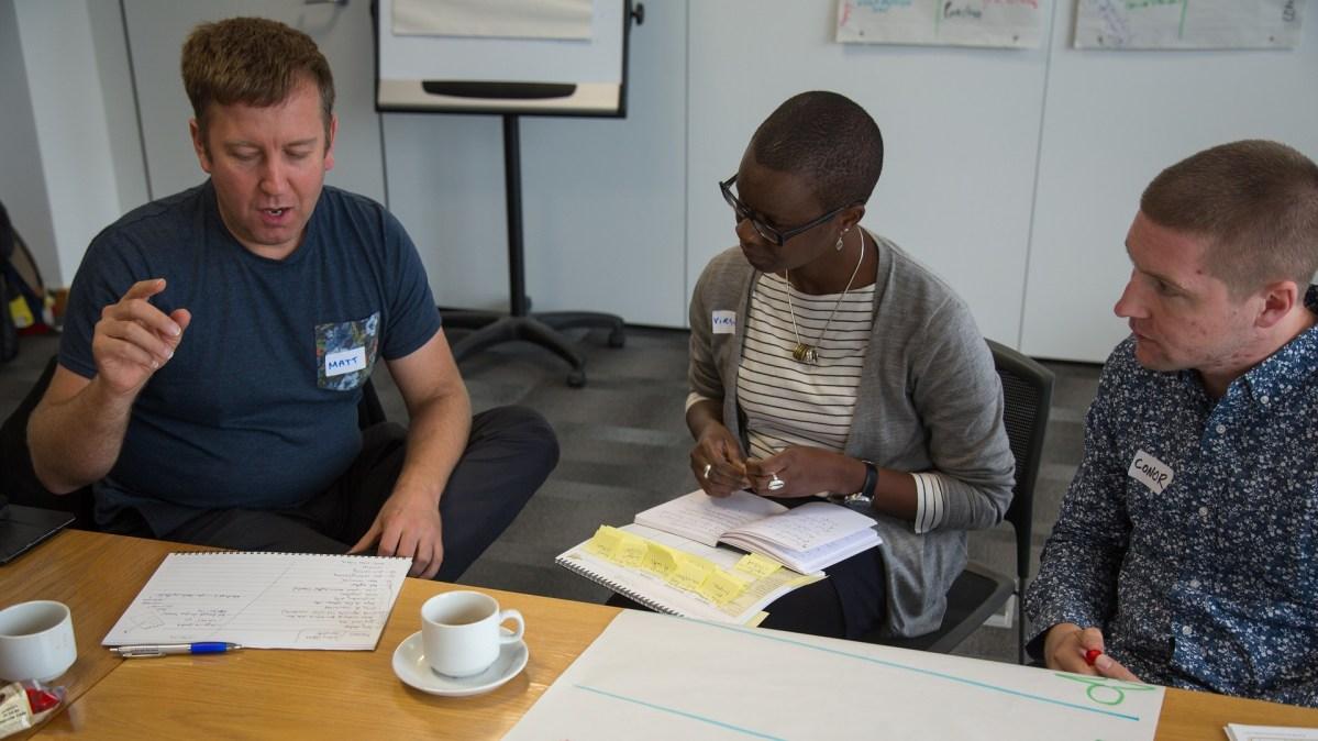 ICAUK ToP Group Facilitation Methods training, 2015 at NCVO in London - photo Michael Ambjorn, facilitation Martin Gilbraith #ToPfacilitation 3