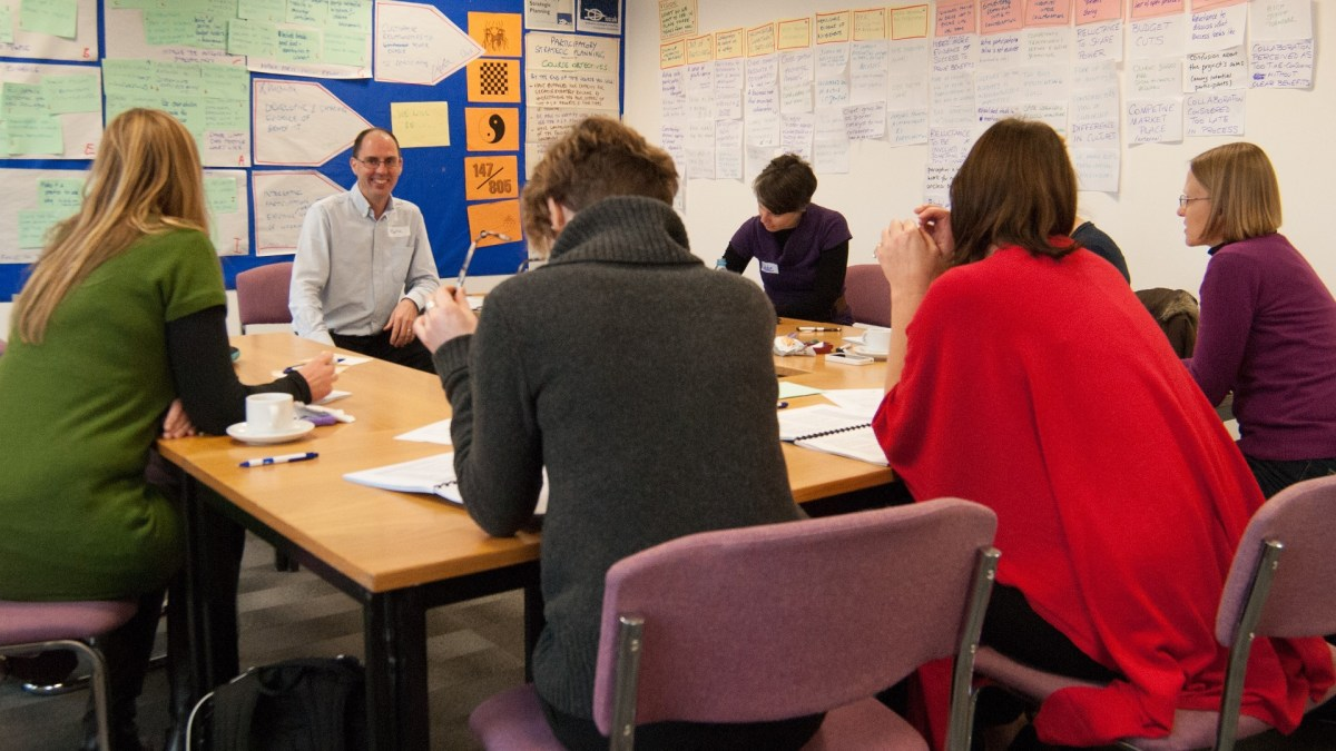 ICAUK ToP Participatory Strategic Planning training, 2013 at NCVO in London - photo Adam Swann, facilitation Martin Gilbraith #ToPfacilitation 5