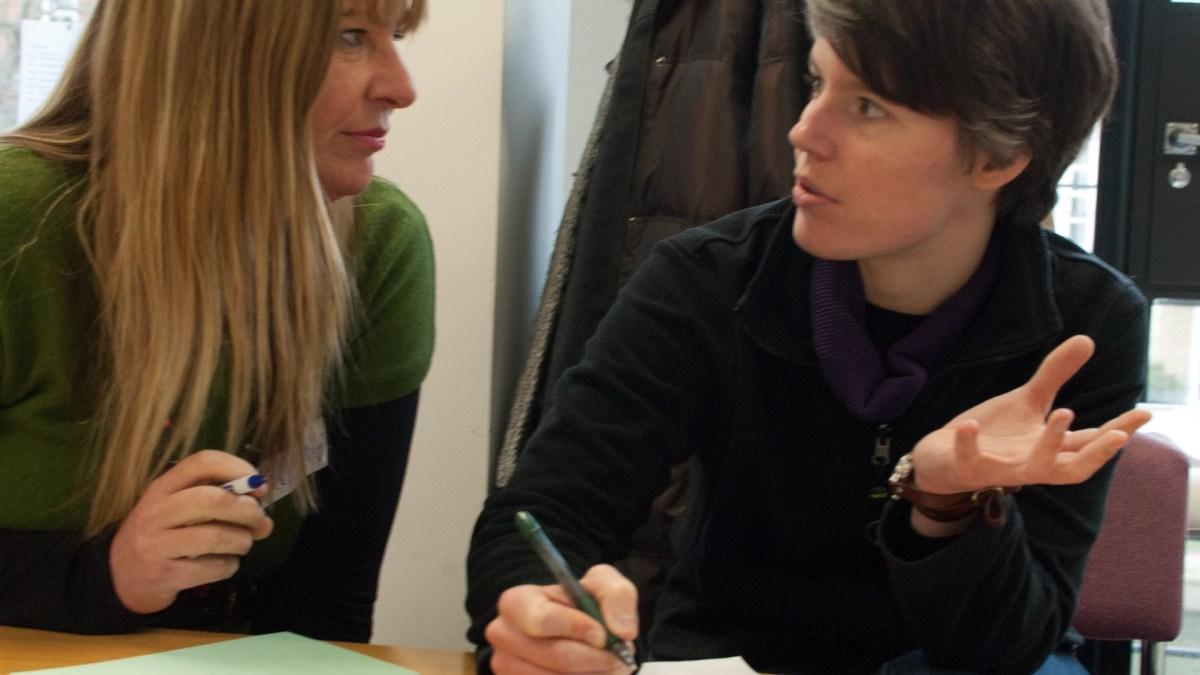 ICAUK ToP Participatory Strategic Planning training, 2013 at NCVO in London - photo Adam Swann, facilitation Martin Gilbraith #ToPfacilitation 8