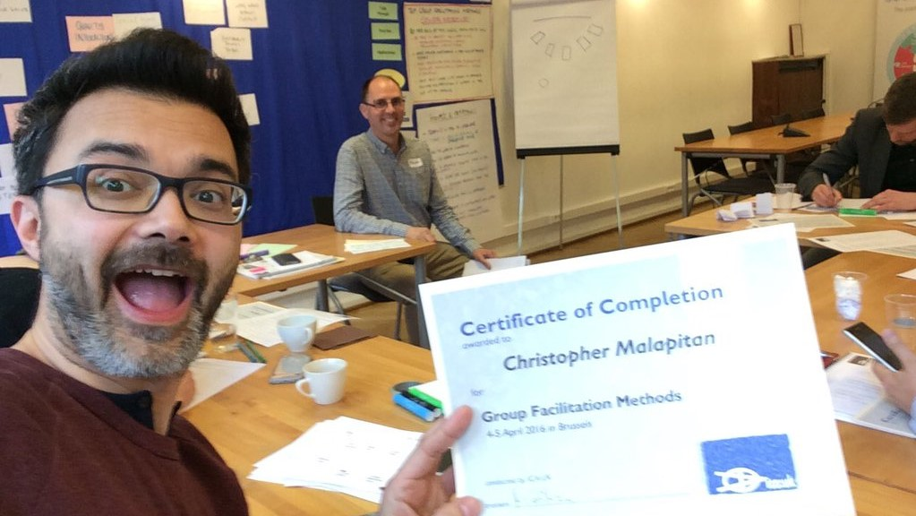 ToP Group Facilitation Methods training, 2016 at Social Platform in Brussels - photo Christopher Malapitan, facilitation Martin Gilbraith #ToPfacilitation