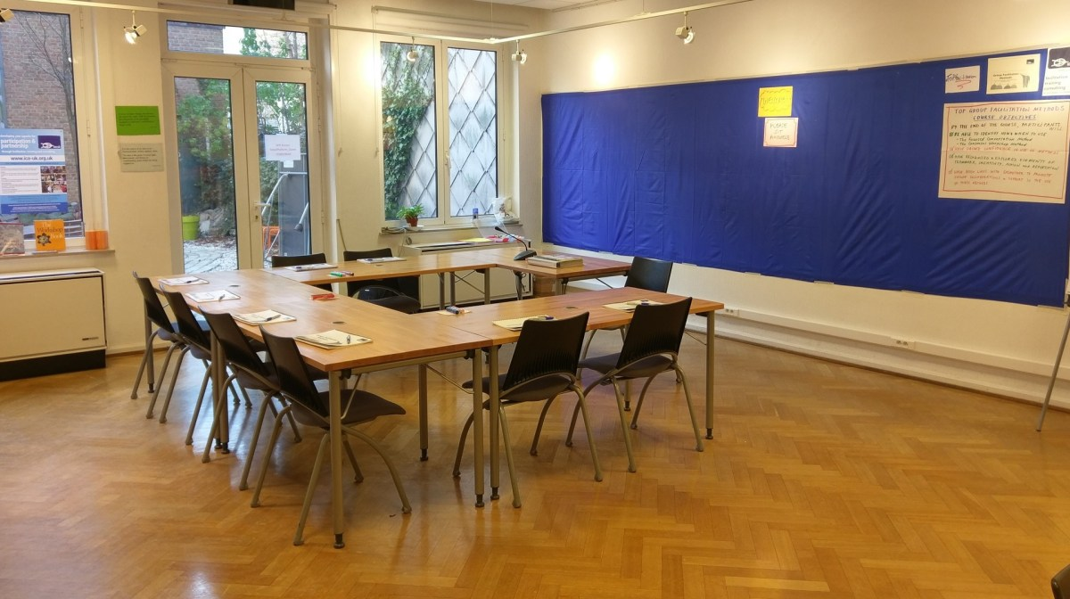 ToP Group Facilitation Methods training, 2017 at Social Platform in Brussels - photo & facilitation Martin Gilbraith #ToPfacilitation