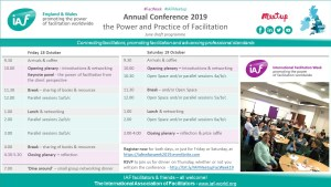 The Power and Practice of Facilitation – annual conference programme
