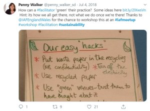 sustainable facilitation easy hacks