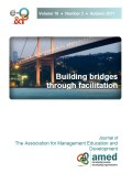 Building bridges through facilitation, AMED