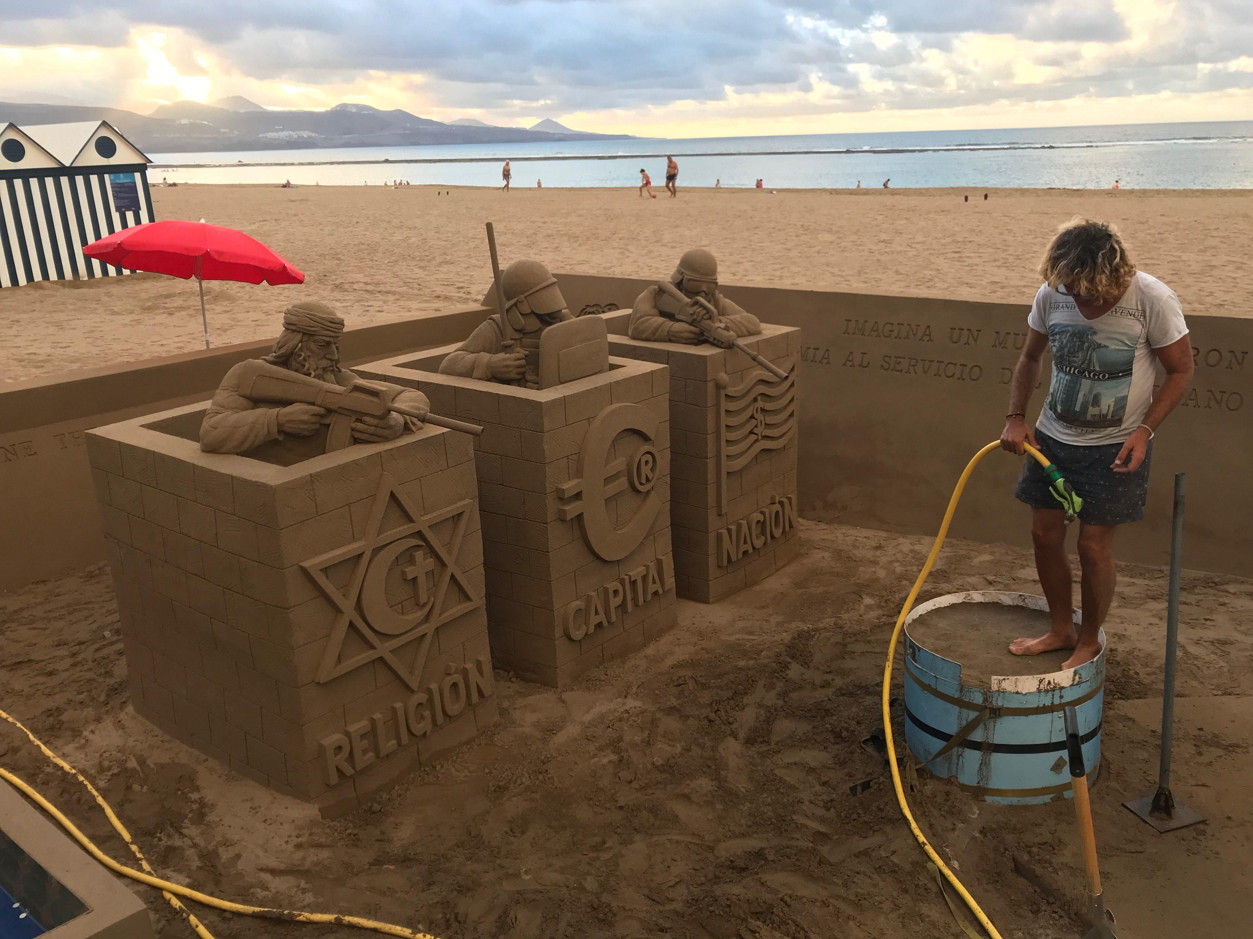 Sand status in Las Palmas de Grand Canaria