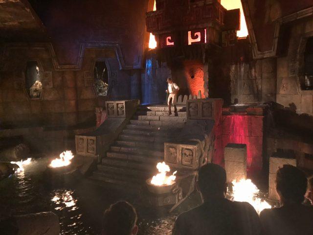 """PortAventura - divadlo na téma """"Indiana Jones"""""""