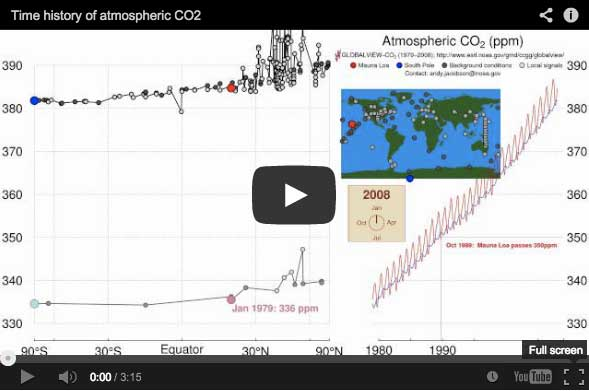Carbon Dioxide Illustrator