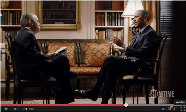 Obama at Years of Living Dangerously