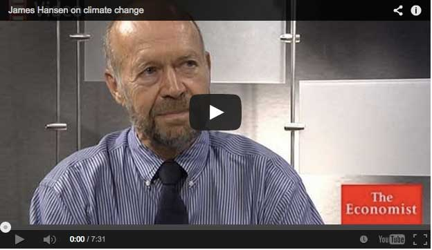 James Hansen on climate change