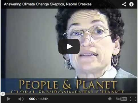 Naomi Oreskes on Climate Change Skeptics