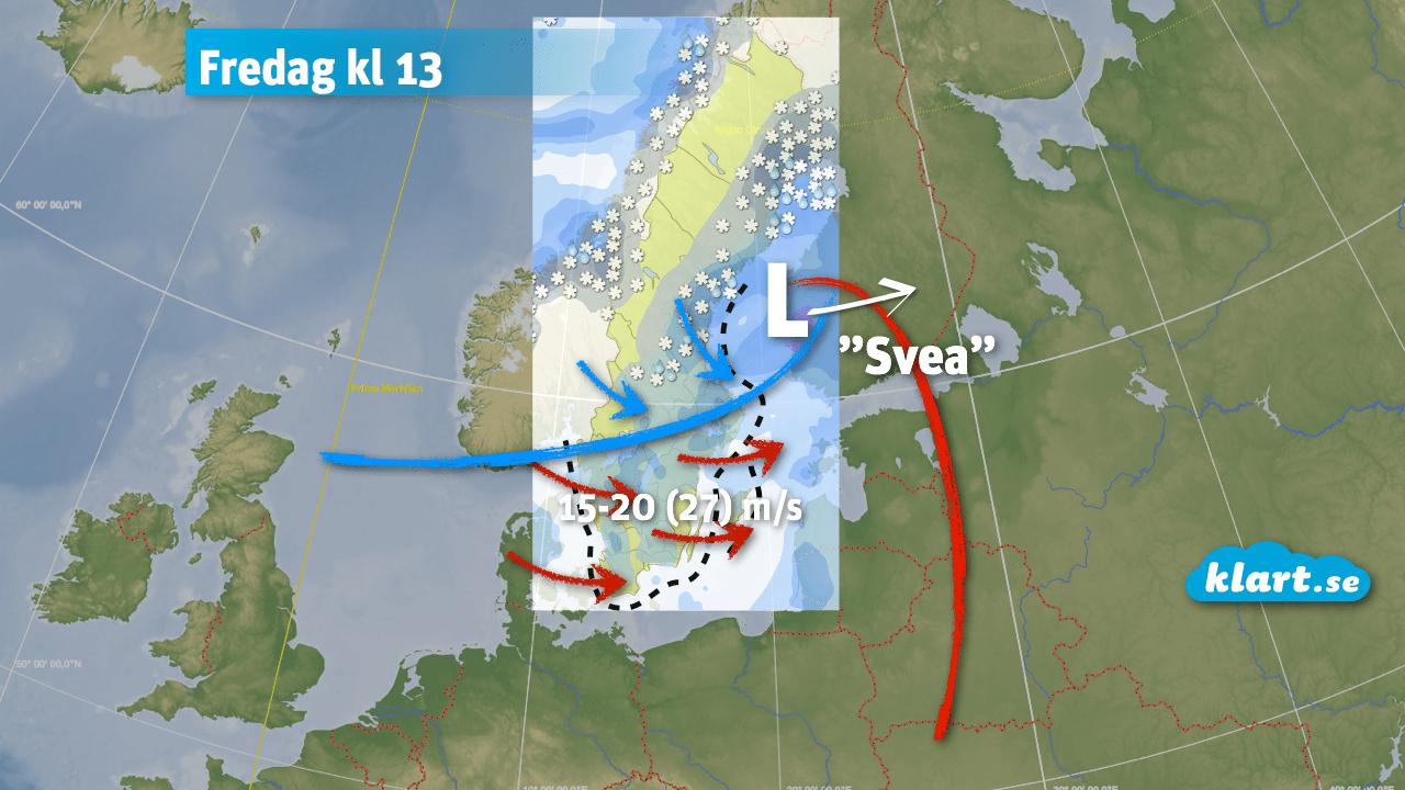 Stormen Svea fredag 2 januari, 2015