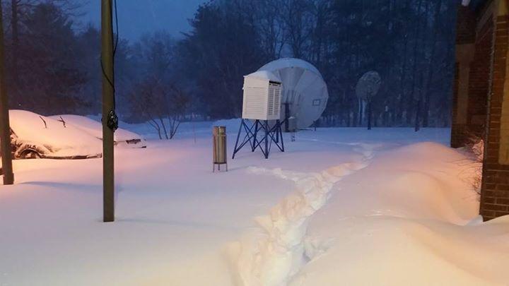 Vad händer med snöstormen Juno?