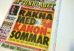 Aftonbladet löpsedel 20150324