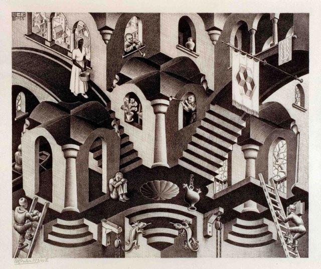 Escher: Convex and Concave