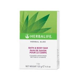 Herbal Aloe bade- og kropssæbe bar