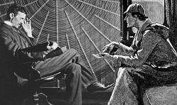Nikola Tesla and Sherlock Holmes
