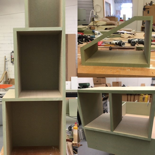 Carcass construction of Home storage solution