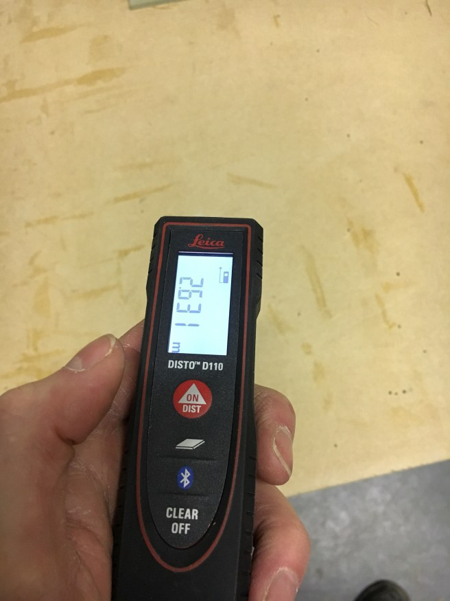 Leica laser level for measuring