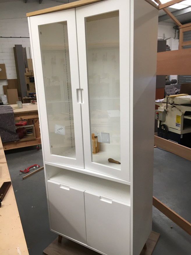 Work in progress cabinet